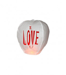 "Sky Lanterns ""I love you"""