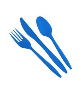 Posate - Azzurro set 24x3 pezzi