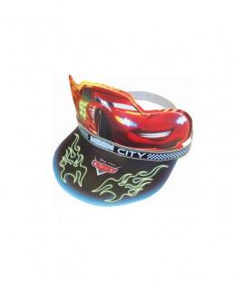 Cars - Cappello con visiera in cartoncino - 6 pezzi