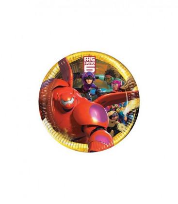 Big Hero 6 - Piatto 23cm - 8 pezzi