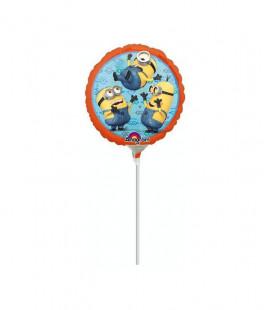 Minions - Pallone foil airfilled - Ø 23 cm