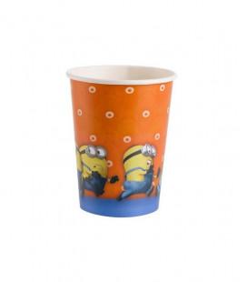 Minions - Bicchieri Carta 266 ml - 8 pezzi