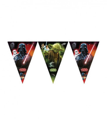 Star Wars - Festone bandierine triangolari