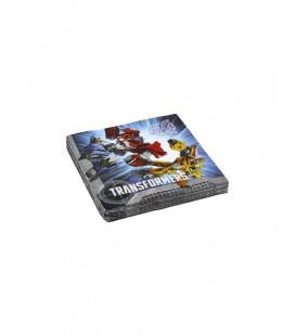 Transformers - Tovaglioli 33x33 cm - 20 pezzi