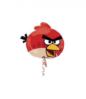 Angry Bird Rosso - Supershape Foil - Ø 58 cm