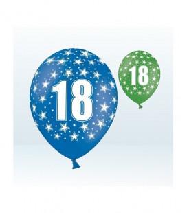 Palloncini 18° compleanno assortiti - Ø 30 cm - confezione da 25