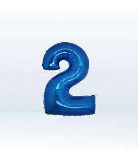 Numero 2 (due) Small - 18 cm