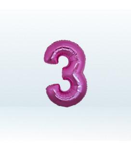 Numero 3 (tre) Small - 18 cm
