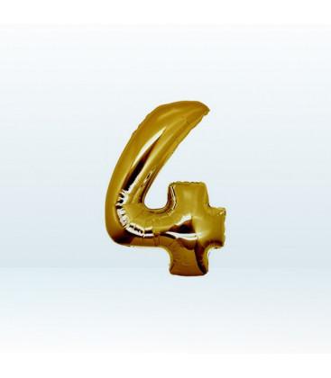 Numero 4 (quattro) Small - 18 cm