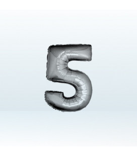 Numero 5 (cinque) Small - 18 cm