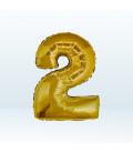 Numero 2 (due) Medium - 35 cm