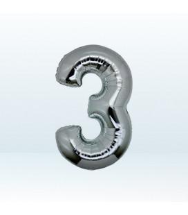 Numero 3 (tre) Medium - 35 cm