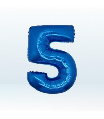 Numero 5 (cinque) Medium - 35 cm
