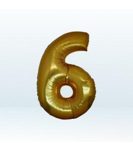Numero 6 (sei) Medium - 35 cm