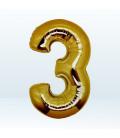 Numero 3 (tre) Large - 102 cm