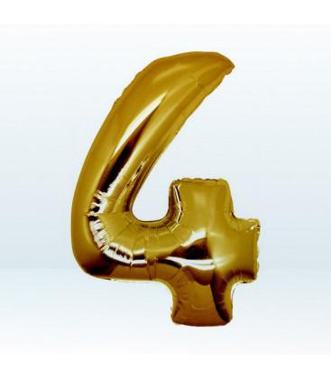 Numero 4 (quattro) Large - 102 cm