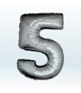 Numero 5 (cinque) Large - 102 cm