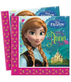 Frozen - Tovagliolo 33x33 cm - 20 pezzi