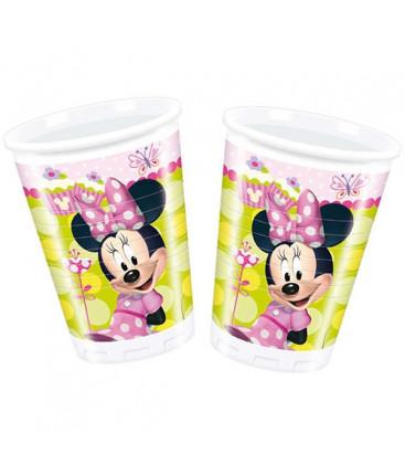Minnie - Bicchiere Plastica 200ml - 8 pezzi