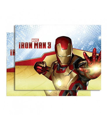 Iron Man 3 - Tovaglia plastica 180x120 cm