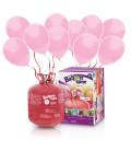 Kit Elio LARGE + 50 palloncini rosa - Ø 23 cm