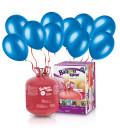 Kit Elio LARGE + 50 palloncini blu - Ø 23 cm