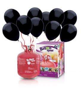 Kit Elio LARGE + 50 palloncini neri - Ø 23 cm