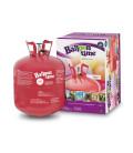 Kit Elio LARGE + 30 palloncini rosa San Valentino - Ø 30 cm