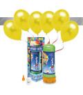 Kit Elio MEDIUM + 16 palloncini metallizzati gialli - Ø 27 cm