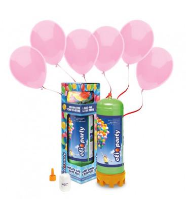 Kit Elio MEDIUM + 30 palloncini rosa - Ø 23 cm