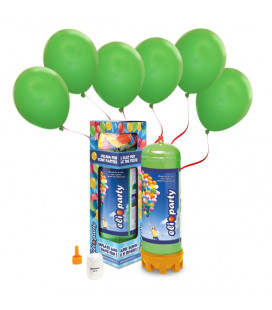 Kit Elio MEDIUM + 30 palloncini verdi - Ø 23 cm