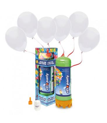 Kit Elio MEDIUM + 30 palloncini bianchi - Ø 23 cm