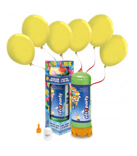 Kit Elio MEDIUM + 30 palloncini gialli - Ø 23 cm