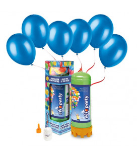 Kit Elio MEDIUM + 30 palloncini blu - Ø 23 cm