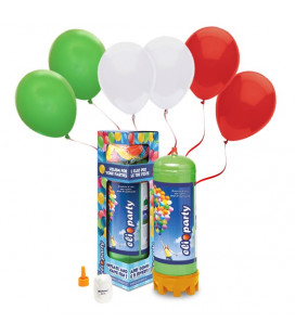 Kit Elio MEDIUM + 30 palloncini Italia - Ø 23 cm