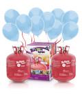 Kit Elio X-LARGE + 100 palloncini azzurri - Ø 23 cm