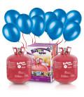 Kit Elio X-LARGE + 100 palloncini blu - Ø 23 cm
