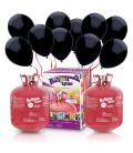 Kit Elio X-LARGE + 100 palloncini neri - Ø 23 cm