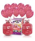"Kit Elio X-LARGE + 60 palloncini rossi ""Fiocchi di Neve"" - Ø 30 cm"