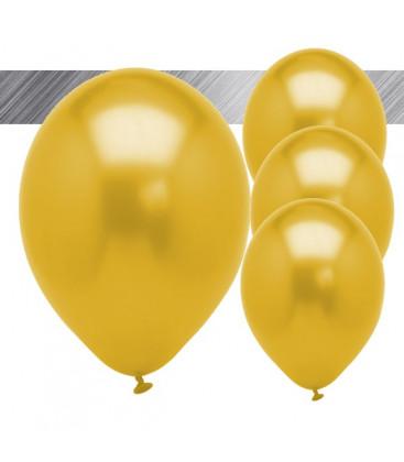 Palloncini Oro Metallizzati - Ø 27 cm - 25 pezzi