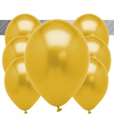 Palloncini Oro Metallizzati - Ø 27 cm - 50 pezzi