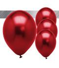 Palloncini Rossi Metallizzati - Ø 27 cm - 50 pezzi