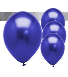 Palloncini Blu Metallizzati - Ø 27 cm - 25 pezzi