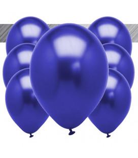 Palloncini Blu Metallizzati - Ø 27 cm - 50 pezzi