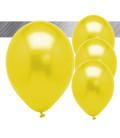 Palloncini Gialli Metallizzati - Ø 27 cm - 50 pezzi