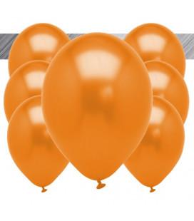 Palloncini Arancione Metallizzati - Ø 27 cm - 100 pezzi