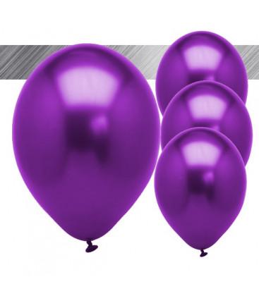 Palloncini Viola Metallizzati - Ø 27 cm - 25 pezzi