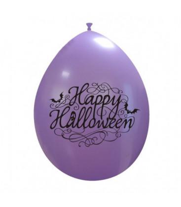Palloncini lavanda Halloween elegante - Ø 26 cm - 100 pezzi