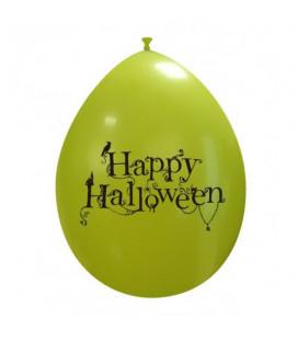Palloncini verdi Halloween cimitero - Ø 26 cm - 50 pezzi