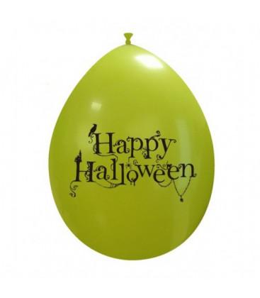 Palloncini verdi Halloween cimitero - Ø 26 cm - 100 pezzi